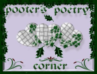 Welcome banner poetry page